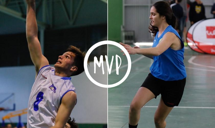 Diego Delgado y Marta Bueno son los MVP de la Copa Colegial Sevilla 2019