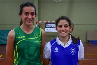 Irene Fernandez y Andrea Gascon