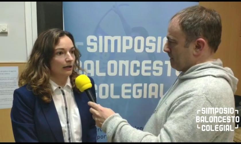 Entrevista a Teresa Álvarez: así fue el IV Simposio Baloncesto Colegial