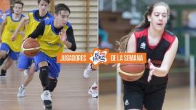 Erea Sesar y Alonso Expósito, Jugadores Bifrutas de la semana