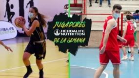 Estelares: Pablo Ardila y Blanca Pérez, Jugadores Herbalife de la Semana en Madrid