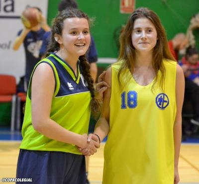 Sara Gutiérrez  y Paula Peñalver,MVPs
