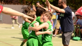 Fase Previa Pequecopa: Un gran recreo lleno de minibasket