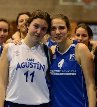 Julia Juan y Eñena Illescas, muy grandes