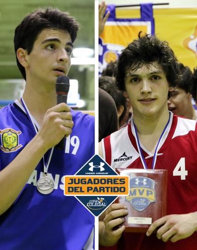 Roberto Martínez y Eduardo Rubio