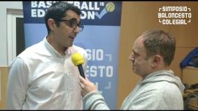 Hablamos con Javier Hernández Bello tras el IV Simposio Baloncesto Colegial
