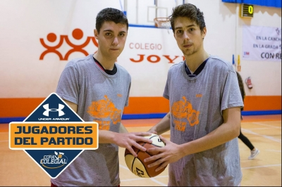 Pámpano y Hernando, Jugadores del partido