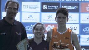Irene Gaspar y Álvaro Campos conquistan la línea de tres