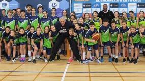 Joe Arlauckas y Audie Norris llevan la magia de la Copa Colegial al Liceo Sorolla