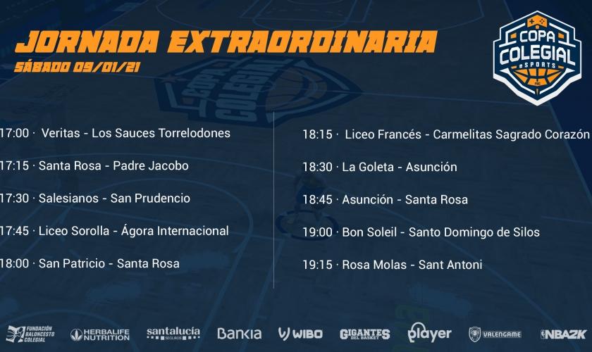 Jornada Extraordinaria de la Copa Colegial eSports