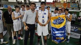 José Carlos Ruíz García, el más valioso de la Copa Colegial Sevilla 2018