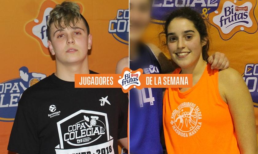 Jugadores BiFrutas de la Semana 1 en Vitoria