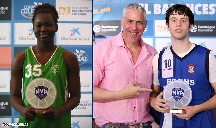Jugadores del siglo XXII: Aminata Sangare y Alejandro González, los MVP modernos