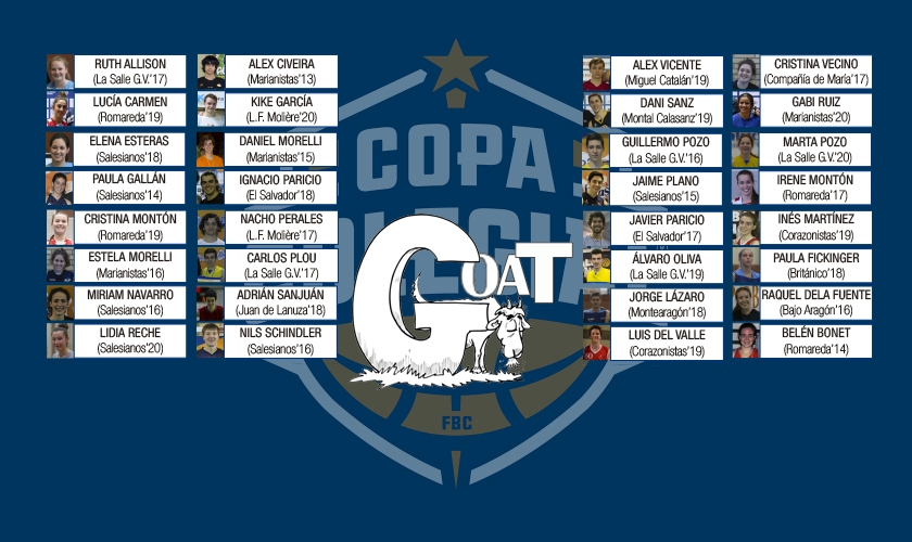 La batalla del G.O.A.T. de Copa Colegial Zaragoza: ¿quiénes son los mejores de la historia?