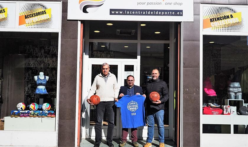 La Central del Deporte, nuevo sponsor local en la sede de Valladolid