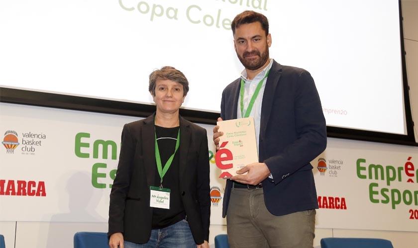 La Copa Colegial, Premio Emprén Esport 2020 en la categoría L