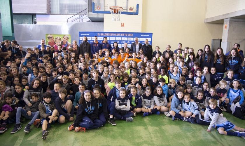 La Copa Colegial se presenta en Valencia con novedades y con San Emeterio, Abalde y Romero