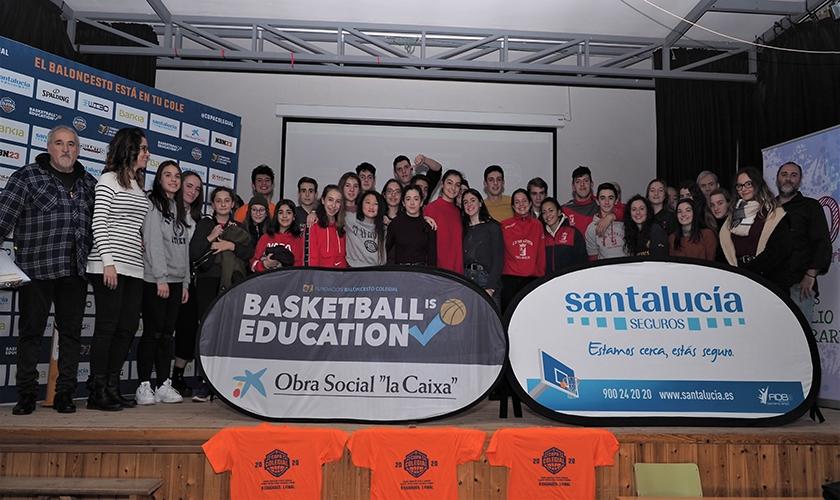 La Copa Colegial Valladolid 2020 da sus primeros pasos en el IES Emilio Ferrari
