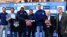 Gran presentación de la Copa Colegial 2018 con Víctor Claver y Pau Ribas