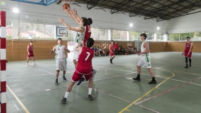 La PreCopa del Grupo A, en el colegio Santo Domingo