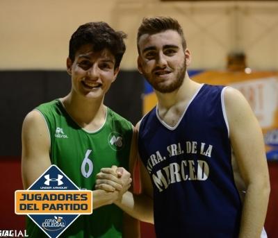 Hugo García y Sergio Calvo, MVPs