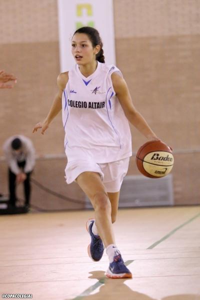 Laura Manso, con un gran dominio del balón