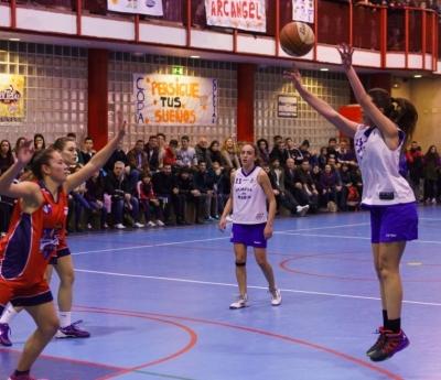 Marta Soriano, en acción