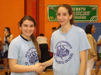 Chantal Martin y  Ana Herrero