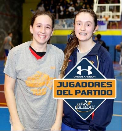Laura Delgado y Paula Ruiz