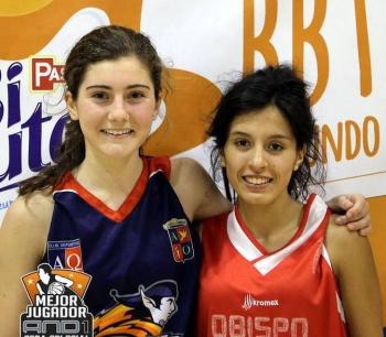 Julia Santos y Carol Guerrero, dos jugadorazas