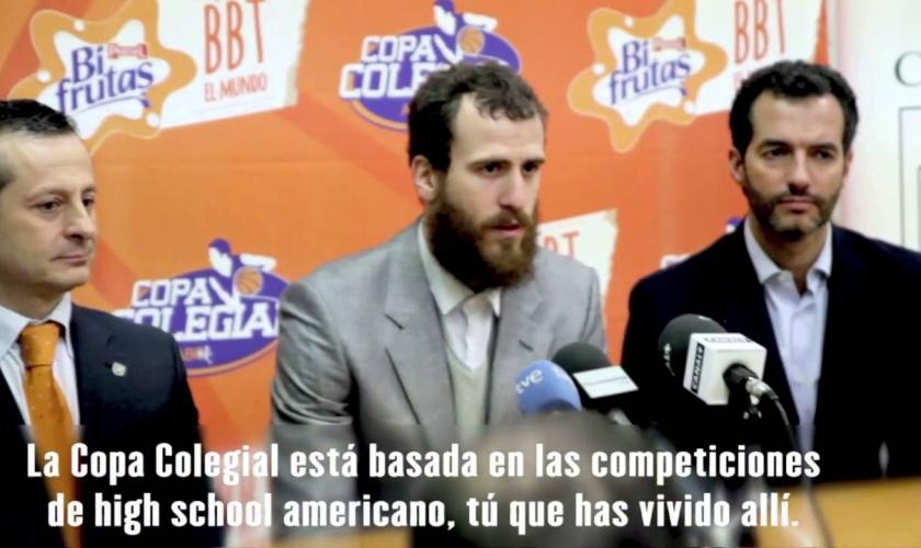 Las interesantes palabras del Chacho sobre la Copa Colegial hace unos años... (VÍDEO)