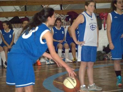 Espectacular partido de Carmen López