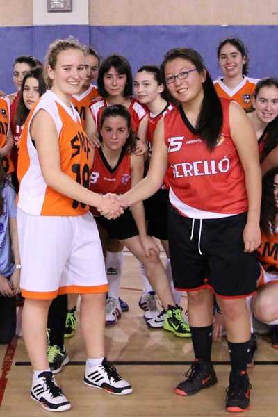 Beatriz Menéndez y Violeta Gómez