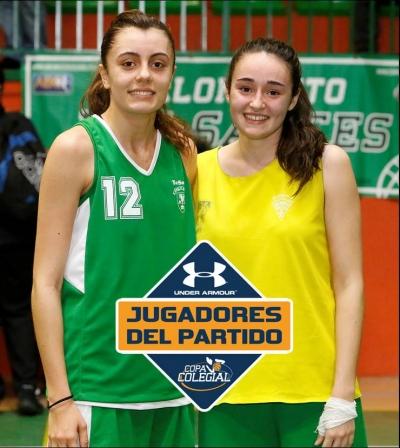 Belén Sánchez y Marta Domínguez de Diego