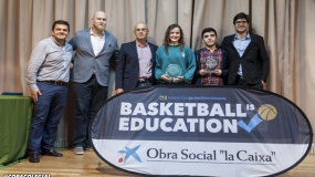 Laura García y Pablo Pardo, galardonados con el premio Mejor Jugador-Estudiante (BSAA)