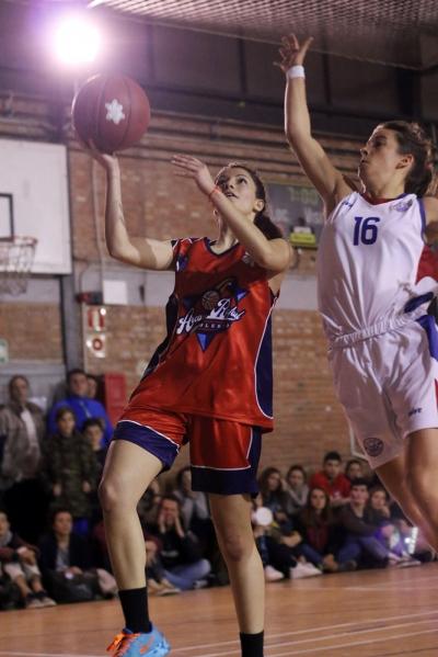Laura García, directa al aro