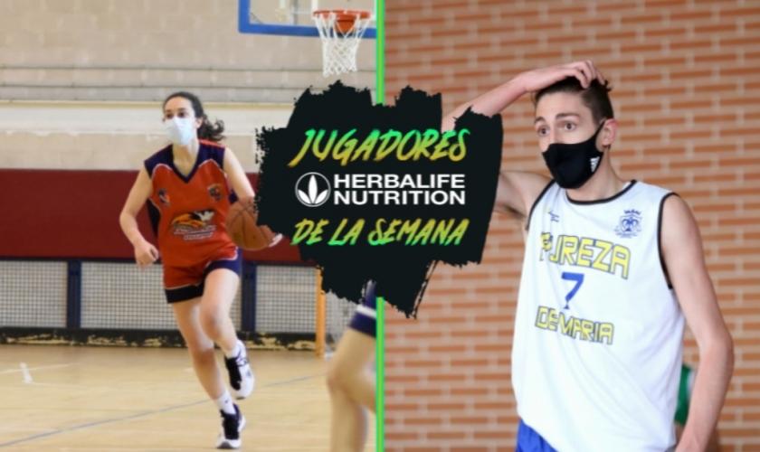 Líderes de su equipo; Guillermo Martínez y Elena Ortiz, Jugadores Herbalife de la Semana