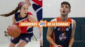 Líderes de sus colegios...y de Madrid. Daniel García y Carmen Hevia, Jugadores Bifrutas