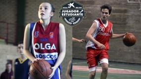 Lidia Reche y Luis Del Valle, Premios BSAA 2019 en Zaragoza