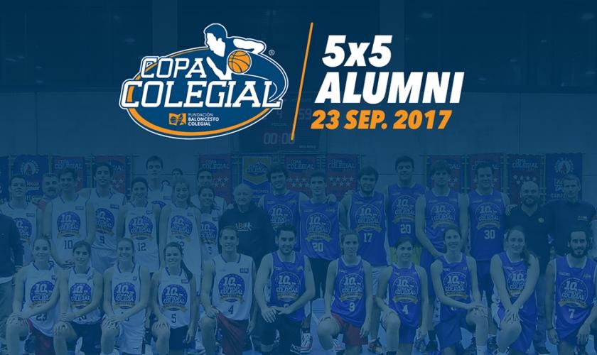 Llega el primer 5x5 Alumni Copa Colegial