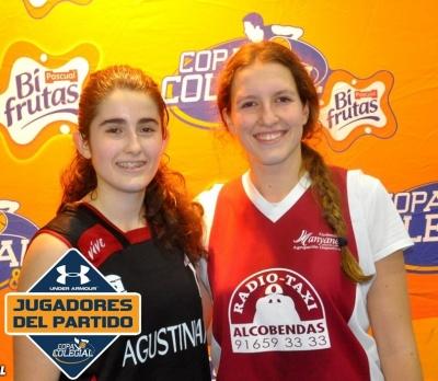 Lucia Gutierrez e Ines Abad MVPs