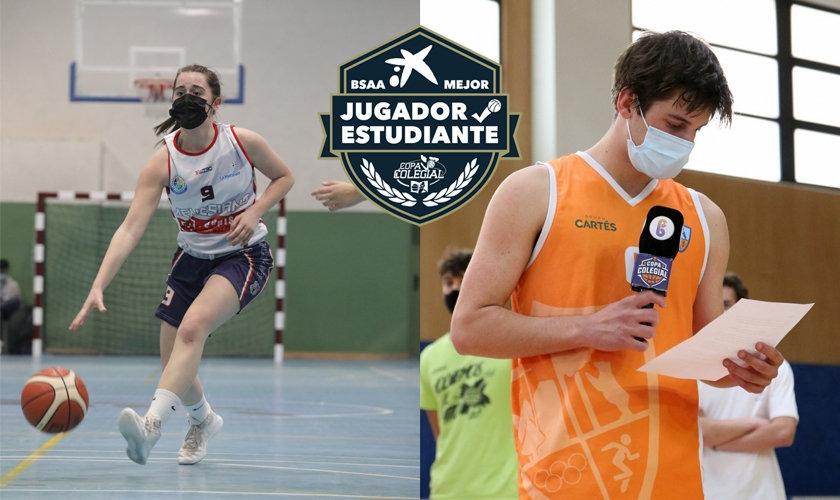 ¡Los BSAA de Madrid 2021! Álvaro Masip y Natalia Brun se llevan el premio a mejor estudiante-atleta