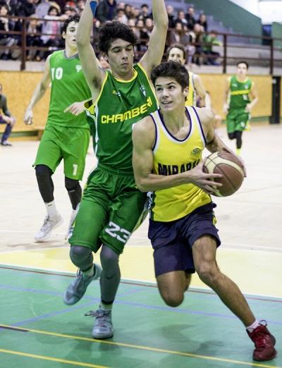 Mirabal jugó con determinación