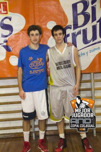 Herrero y Matas, MVPs And1 del partido