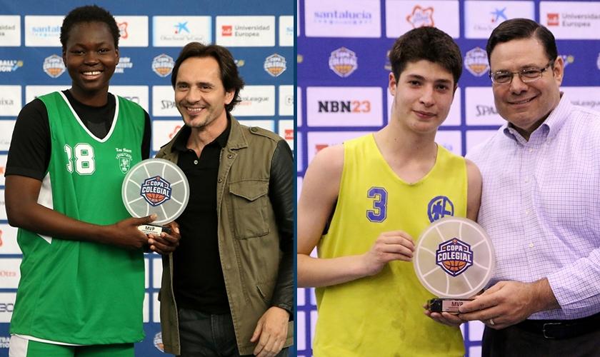 Los mejores de Madrid: Aminata Sangare y Nicolás Gutiérrez, MVP del Torneo