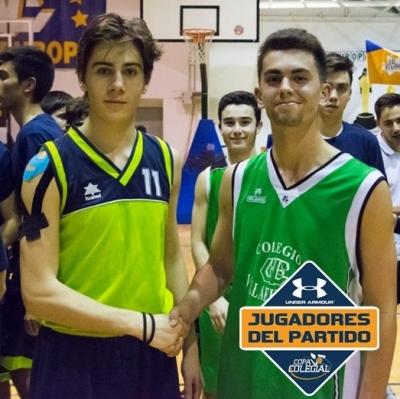 Gonzalo Herreo y Rubén García, MVPs