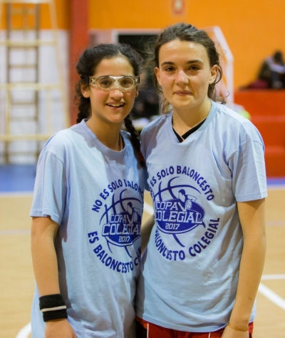 Cristina Gómez y Paula Aguado