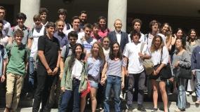 Los valores y  el Talento Colegial de José Luis Llorente impresionan en Fomento Fundación