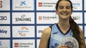 """Lucía Vidal: """"Echaré de menos el ambiente de la Copa Colegial"""""""