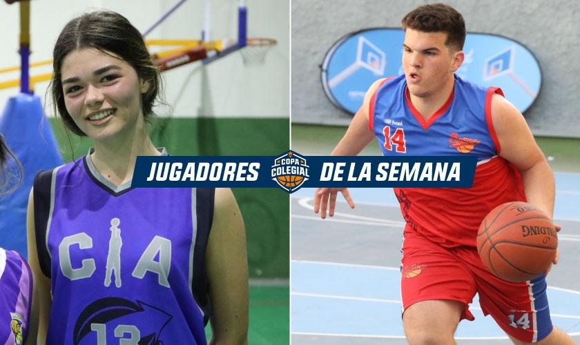 Lucía Fernández-Montes y David Rodríguez Tuvilla, Jugadores de la Semana